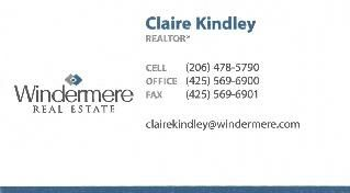 Claire Kindley, REALTOR®/Broker in Maple Valley, Windermere